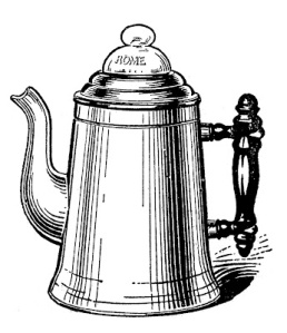 Putting on the coffee pot at home requires no confessions to Quicken!