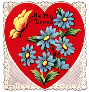 RetroLaceHeartValentineGraphicsFairy