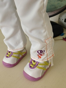 A favorite item:  McKenna's Warm-Up Outfit.  Those are some cute shoes!  $12.00