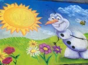 Olaf Chalk Art