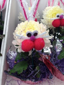 Hoppy Easter?  This flower creation was spotted at Walmart!